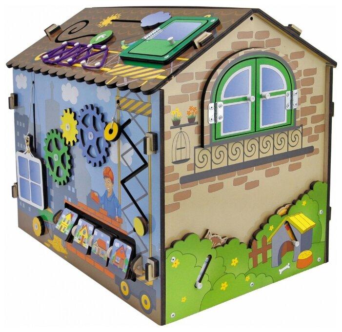 Бизиборд Мастер игрушек Я строитель