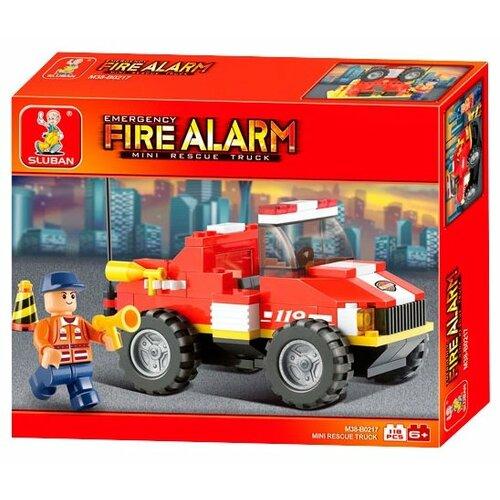Купить Конструктор SLUBAN Пожарные спасатели M38-B0217, Конструкторы