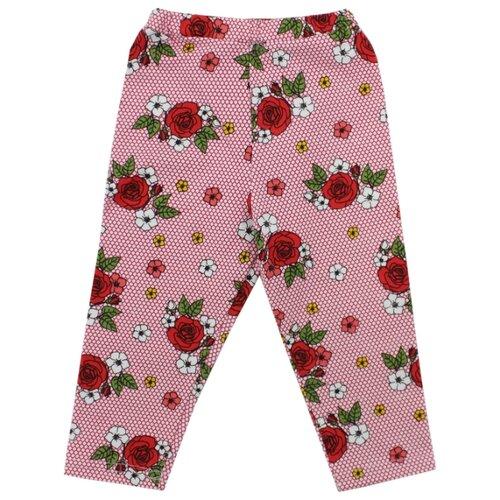 Бриджи iBala размер 40 (116-122), розовый/красный