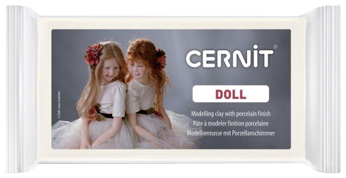 Полимерная глина Cernit Doll прозрачная телесная (425), 500 г