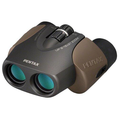 Фото - Бинокль Pentax UP 8-16x21 черный/коричневый on dot черный 8 ярдов