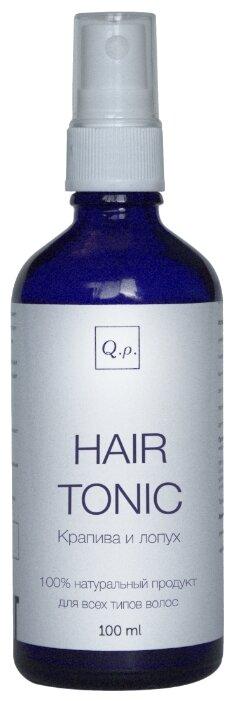 Q.P. тоник для роста волос Крапива и лопух