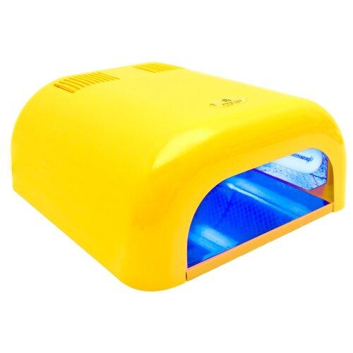 Купить Лампа UV planet nails 36W Tunnel Econom, 36 Вт желтая