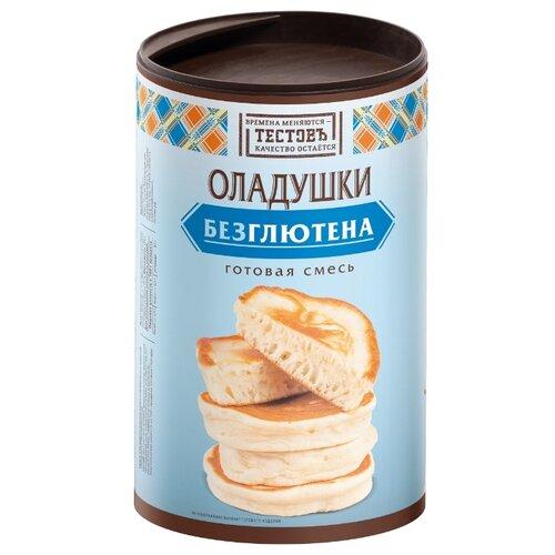 ТЕСТОВЪ Смесь для выпечки Оладушки без глютена, 0.4 кг