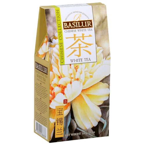Фото - Чай белый Basilur Chinese collection White tea, 100 г chinese ancient trees black tea leaves