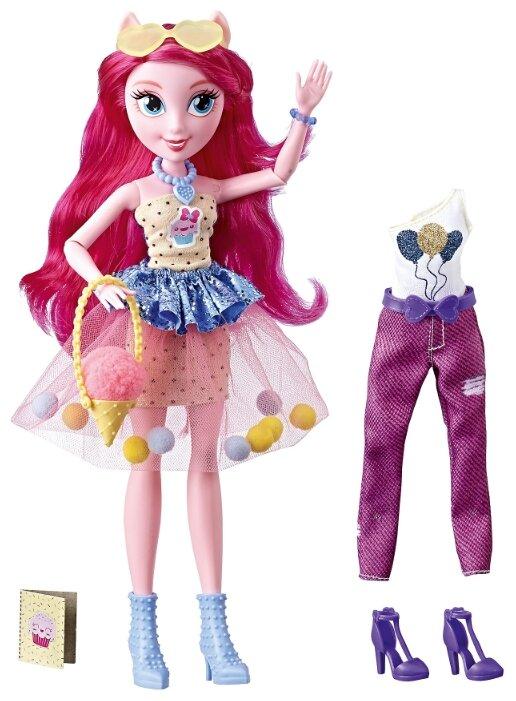 Кукла My Little Pony Equestria Girls Уникальный наряд Пинки Пай, 29 см, E2746