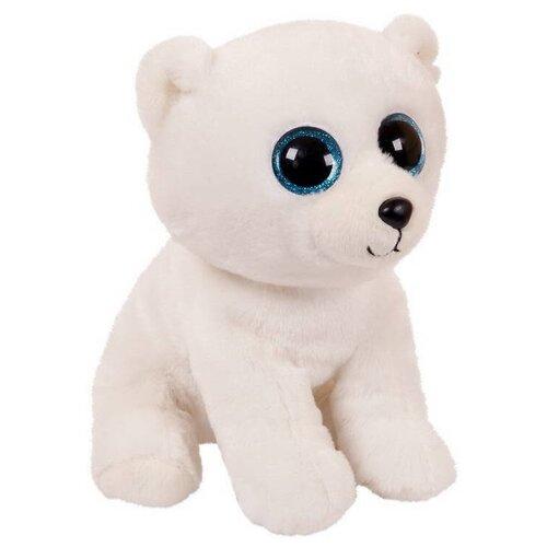 Купить Мягкая игрушка ABtoys Медвежонок белый 24 см, Мягкие игрушки