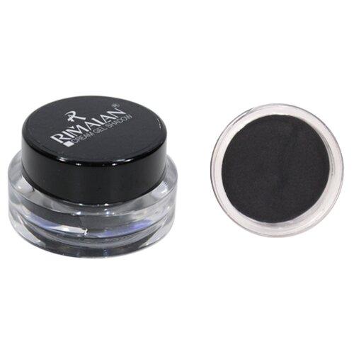 Rimalan Тени для век Крем-гель металлический черный rimalan тени для век крем гель прозрачно белый