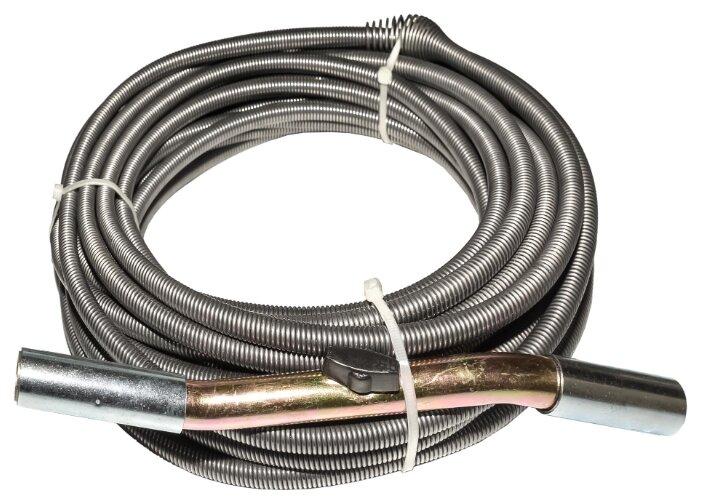 Сантехнический трос 15 м CROCODILE 50310-10-15 с универсальной насадкой