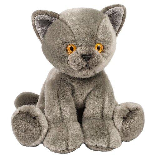 Мягкая игрушка Maxitoys Котик серый 30 см игрушка мягкая maxitoys калифорнийский кролик 30 см