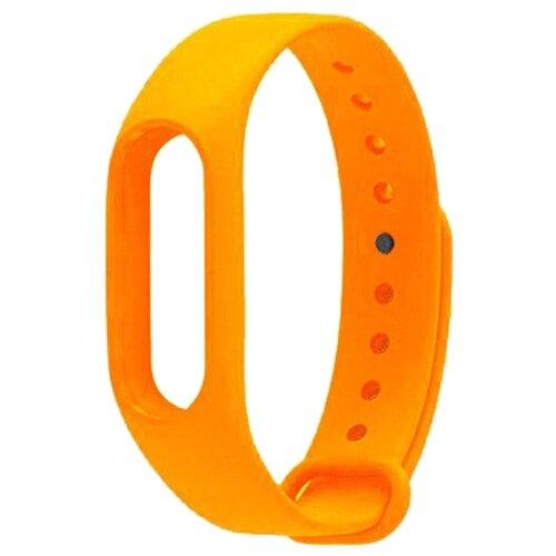 Titan Ремешок силиконовый для Xiaomi Mi Band 2 оранжевый