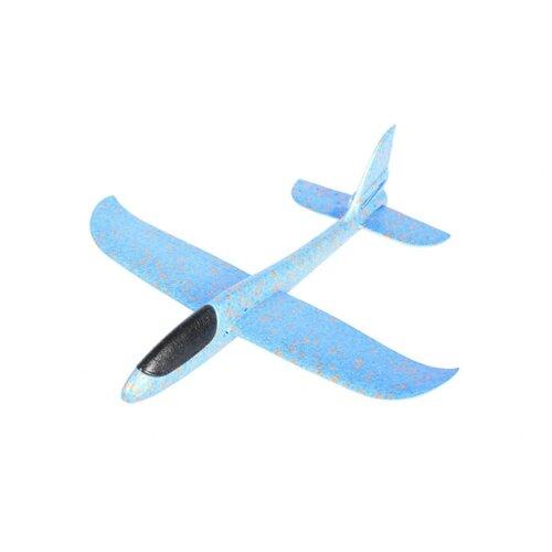 Планер большой, размах крыльев 48 см (синий)