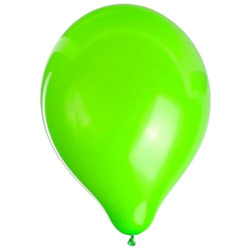 Набор воздушных шаров ZIPPY Неон 25 см (50 шт.) зеленый
