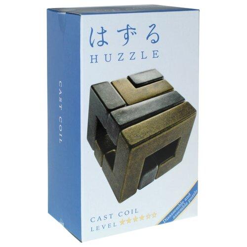 Головоломка Cast Puzzle Coil, уровень сложности 4 (515056) серый/желтый головоломка cast puzzle mobius 55208 желтый