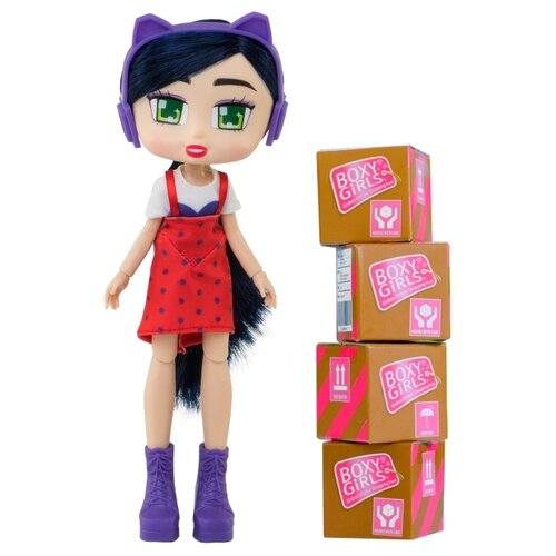 Купить Кукла 1 TOY Boxy Girls Riley, 20 см, Т15109, Куклы и пупсы