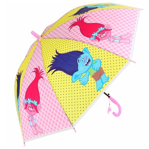 Зонт Amico желтый/розовый