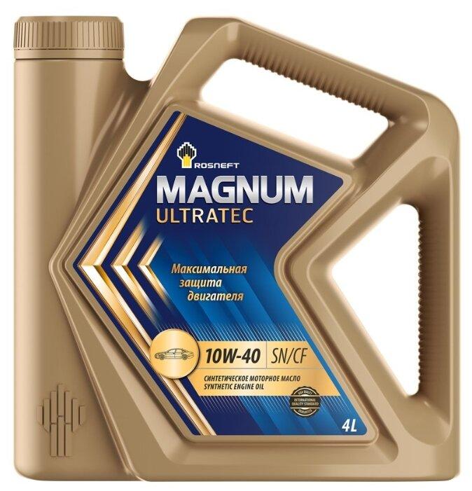 Масло моторное Rosneft Magnum Ultratec 10W-40 синтетика 4L