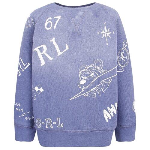 Купить Свитшот Ralph Lauren размер 92, синий, Джемперы и толстовки