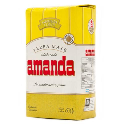 Чай травяной Amanda Yerba mate Limon , 500 г living диван amanda