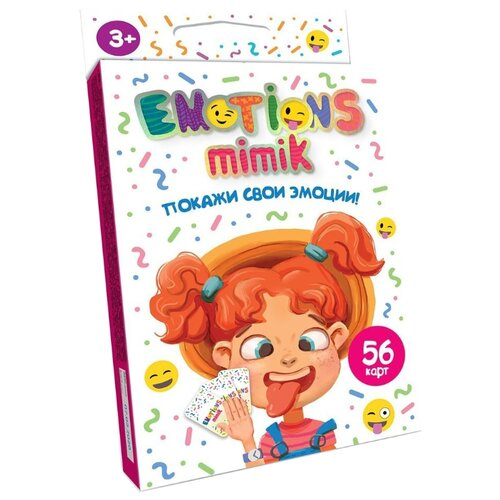 Купить Настольная игра Danko Toys Покажи свои эмоции, Настольные игры