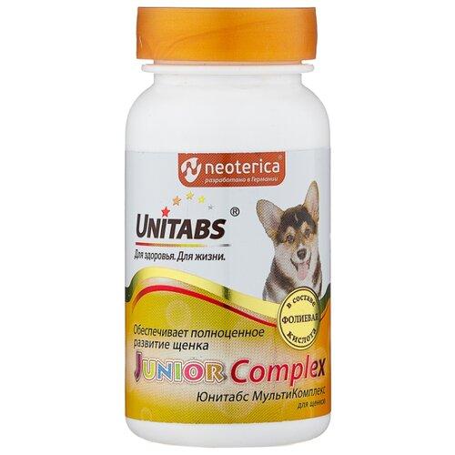 Добавка в корм Unitabs JuniorComplex для щенков 100 шт. добавка в корм unitabs prebiotic для кошек и собак 100 шт