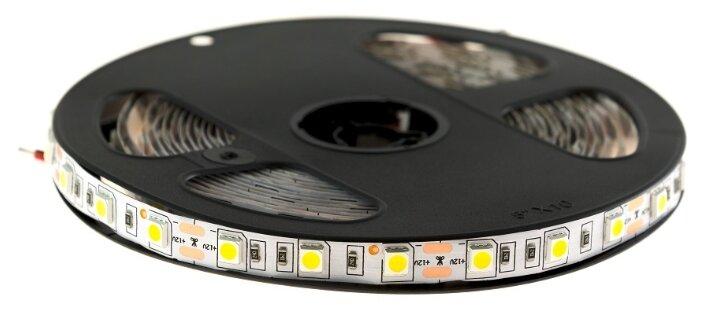 Светодиодная лента URM 5050-60led-12V-14.4W-18-20LM-4000K-IP22-10mm 5 м