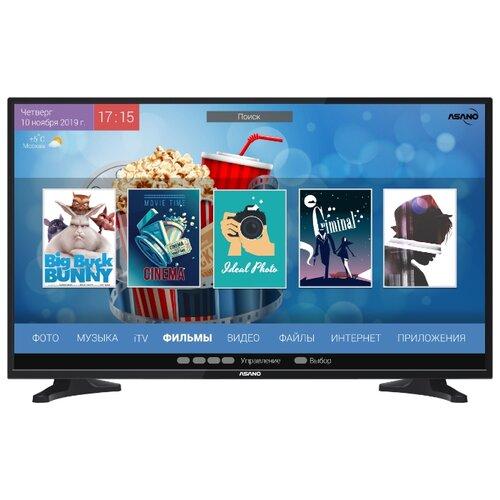 Телевизор Asano 32LH7010T 31.5 (2019) черный led телевизор asano 50 lf 7010 t черный