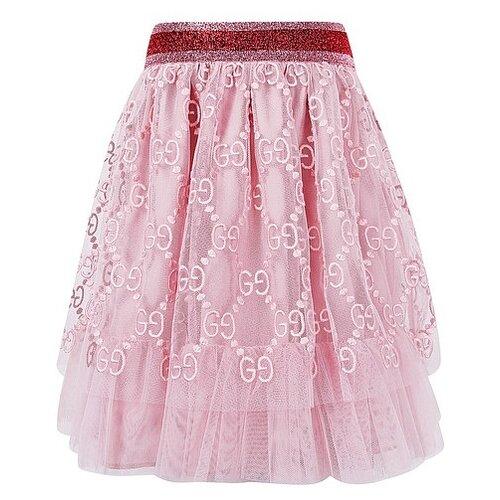 цена Юбка GUCCI размер 98, розовый онлайн в 2017 году