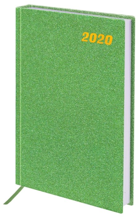 Ежедневник BRAUBERG Holiday 2020 год А5 зеленый 129743