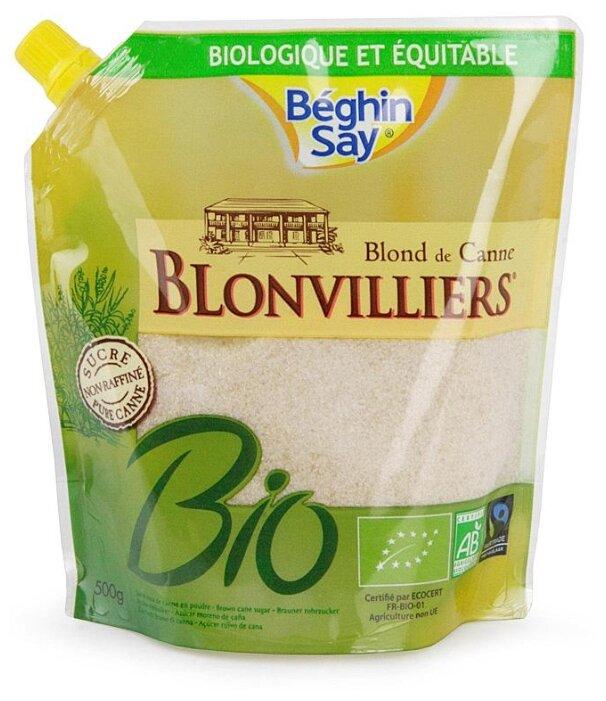 Сахар Beghin Say Blonvilliers' тростниковый нерафинированный сахар