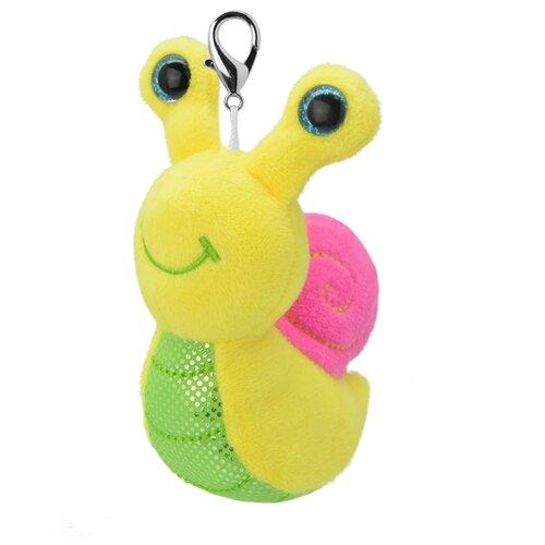 Купить Игрушка-брелок Wild Planet Улитка 8 см, Мягкие игрушки