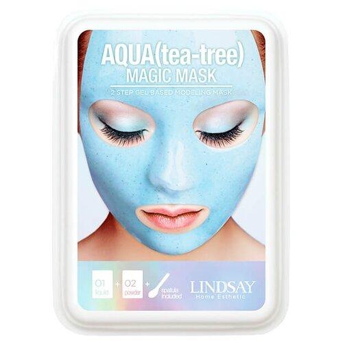 Фото - Lindsay Маска альгинатная моделирующая с экстрактом чайного дерева Magic Mask, 65 г альгинатная маска с маслом чайного дерева пудра активатор aqua tea tree magic mask