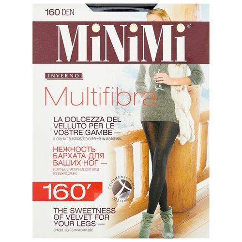 Фото - Колготки MiNiMi Multifibra, 160 den, размер 2-S/M, nero (черный) колготки minimi elegante 40 den размер 2 s m nero черный