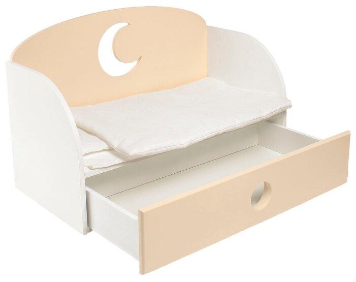 PAREMO Диван кровать для кукол Луна (PFD120