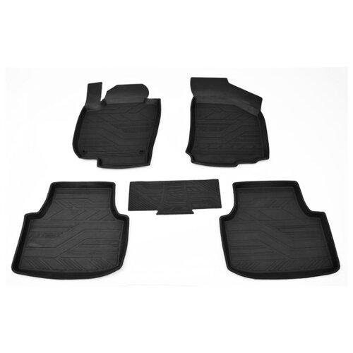 Комплект ковриков AVD Tuning ADRPLR289 Volkswagen Passat 4 шт. черный комплект ковриков avd tuning adrplr016 chevrolet captiva 4 шт черный