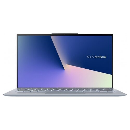 Фото - Ноутбук ASUS Zenbook S13 UX392FN-AB006R (Intel Core i7 8565U 1800MHz/13.9/1920x1080/16GB/512GB SSD/DVD нет/NVIDIA GeForce MX150 2GB/Wi-Fi/Bluetooth/Windows 10 Pro) 90NB0KZ1-M01290 голубой ноутбук asus zenbook ux333fn a3110t core i7 8565u 8gb ssd512gb nvidia geforce mx150 2gb 13 3 fhd 1920x1080 windows 10 silver wifi bt cam bag