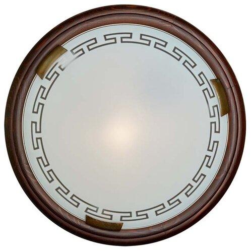 Светильник без ЭПРА Сонекс Greca Wood 160/K, D: 36 см, E27