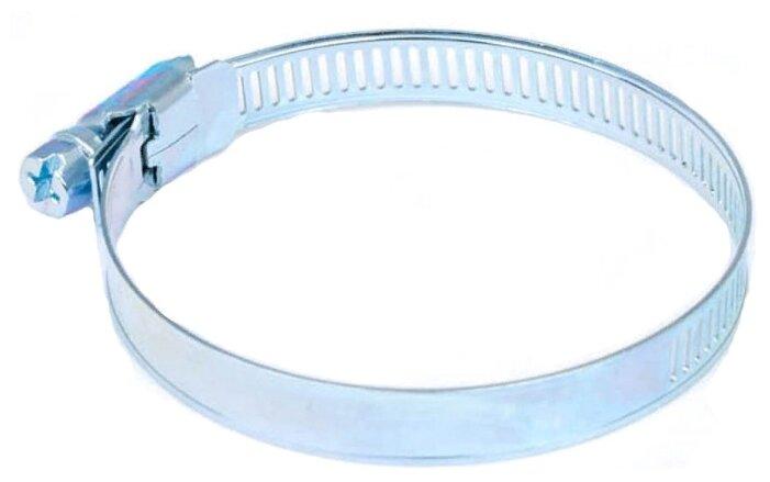 Хомут червячный Стройбат оцинкованный 32-51 мм 1 шт.