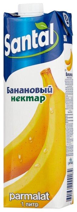 Нектар Santal Банан, с крышкой, 1 л