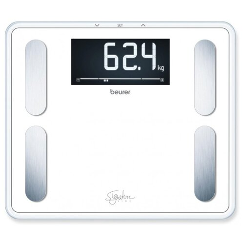 Фото - Весы электронные Beurer BF410 Signature Line White весы напольные beurer bf410 чёрный
