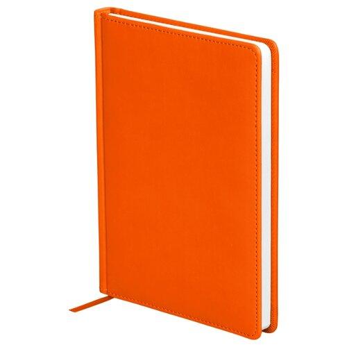 Ежедневник OfficeSpace Winner недатированный, искусственная кожа, А5, 136 листов, оранжевый ежедневник officespace winner недатированный искусственная кожа а5 136 листов розовый