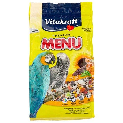 Vitakraft Корм Menu для крупных попугаев 1000 г