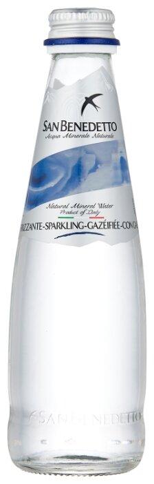 Минеральная вода San Benedetto газированная стекло