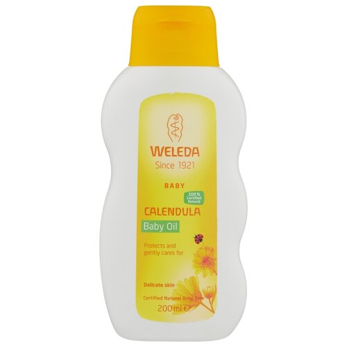 Купить Weleda Масло для младенцев с календулой с нежным ароматом, 200 мл, Уход за кожей