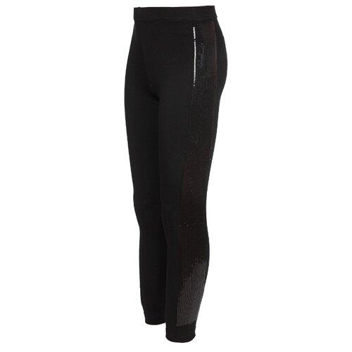 Купить Леггинсы Nota Bene 201271504 размер 140, черный/черный, Брюки