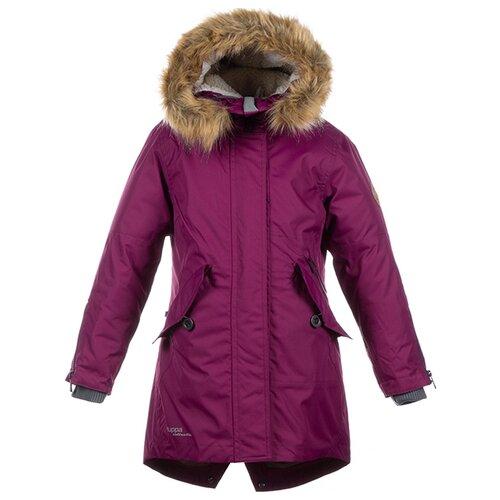 Пальто Huppa Vivian размер 122, burgundy пальто huppa vivian размер 152 70002 yellow
