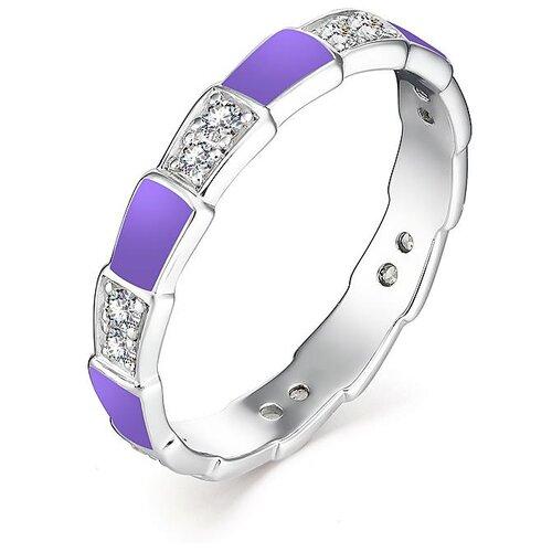 АЛЬКОР Кольцо с 14 фианитами из серебра 01-1302-ЭМ69-00, размер 18 алькор кольцо с 14 фианитами из серебра 01 1305 эм69 00 размер 18