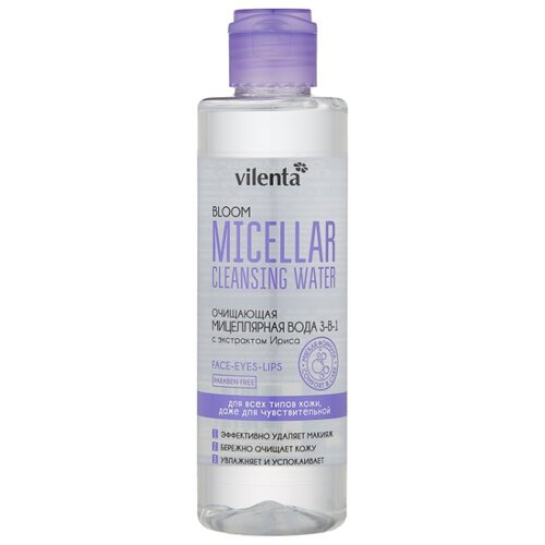 Vilenta мицеллярная вода Bloom, 200 мл шампунь гель vilenta