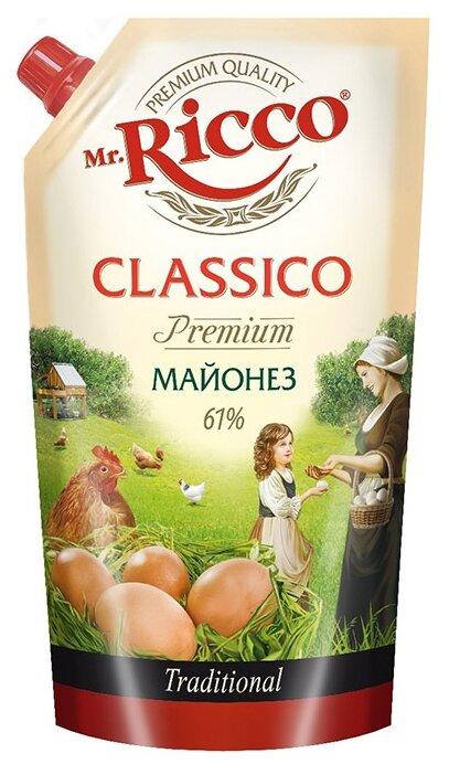Майонез Mr.Ricco классико премиум 61%
