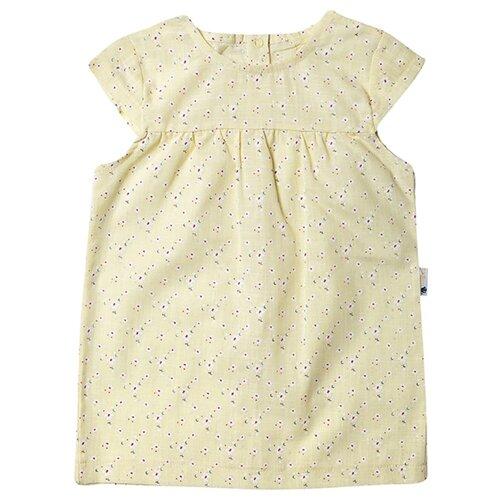 Платье Клякса размер 26-92, желтый